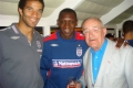 with Emile Heskey & David James